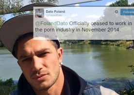 Russian hottie Dato Foland retired almost six months ago