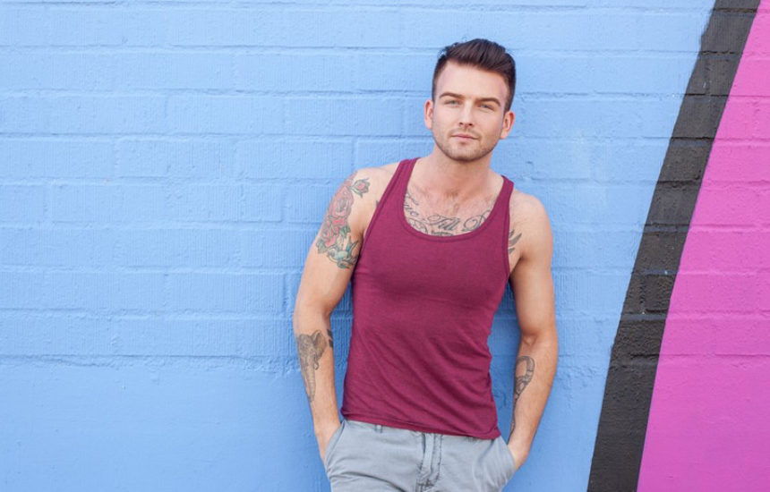 This inked stud is Brett Beckham and he is very hot!