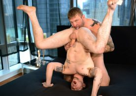 "Beefy masseur Colby Jansen fucks Colton Grey in ""The Imposter"" part 2"