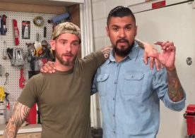 Logan McCree is back and he is filming with Boomer Banks for Raging Stallion