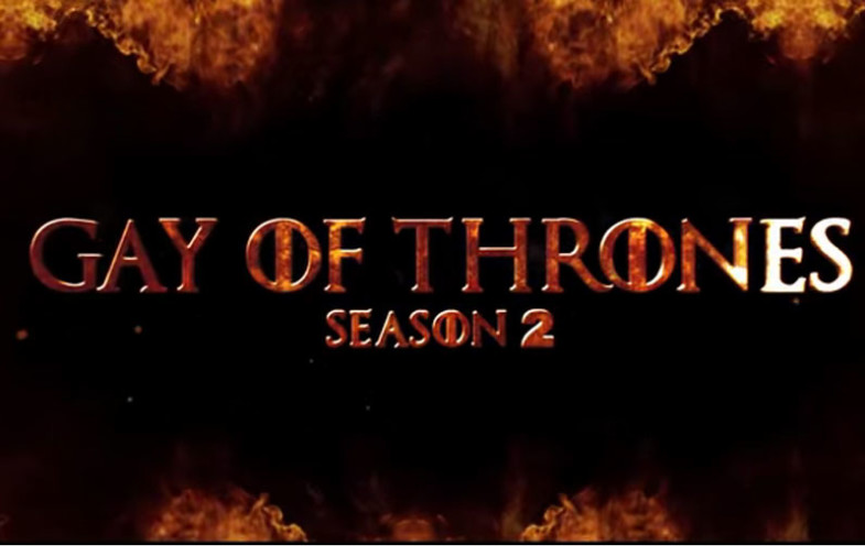 """Here's the first movie trailer for Men.com's """"Gay of Thrones"""" season two"""