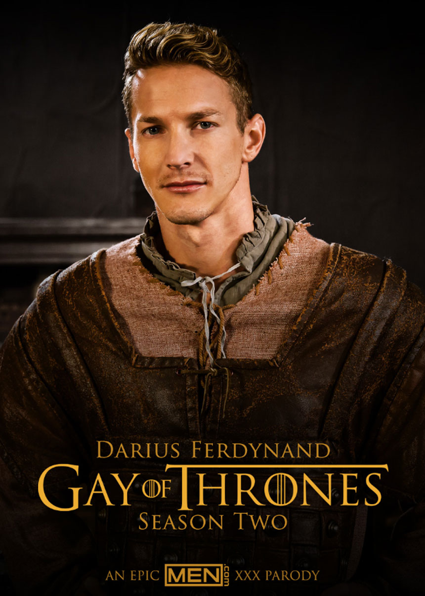 Darius Ferdynand in Gay of Thrones