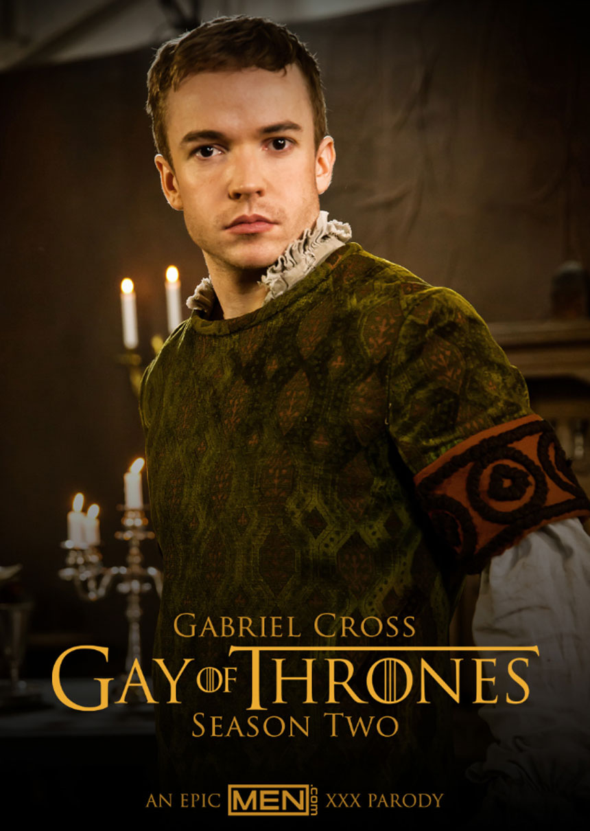 Gabriel Cross in Gay of Thrones