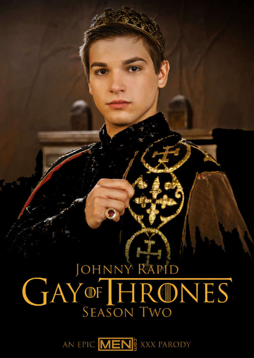Johnny Rapid in Gay of Thrones