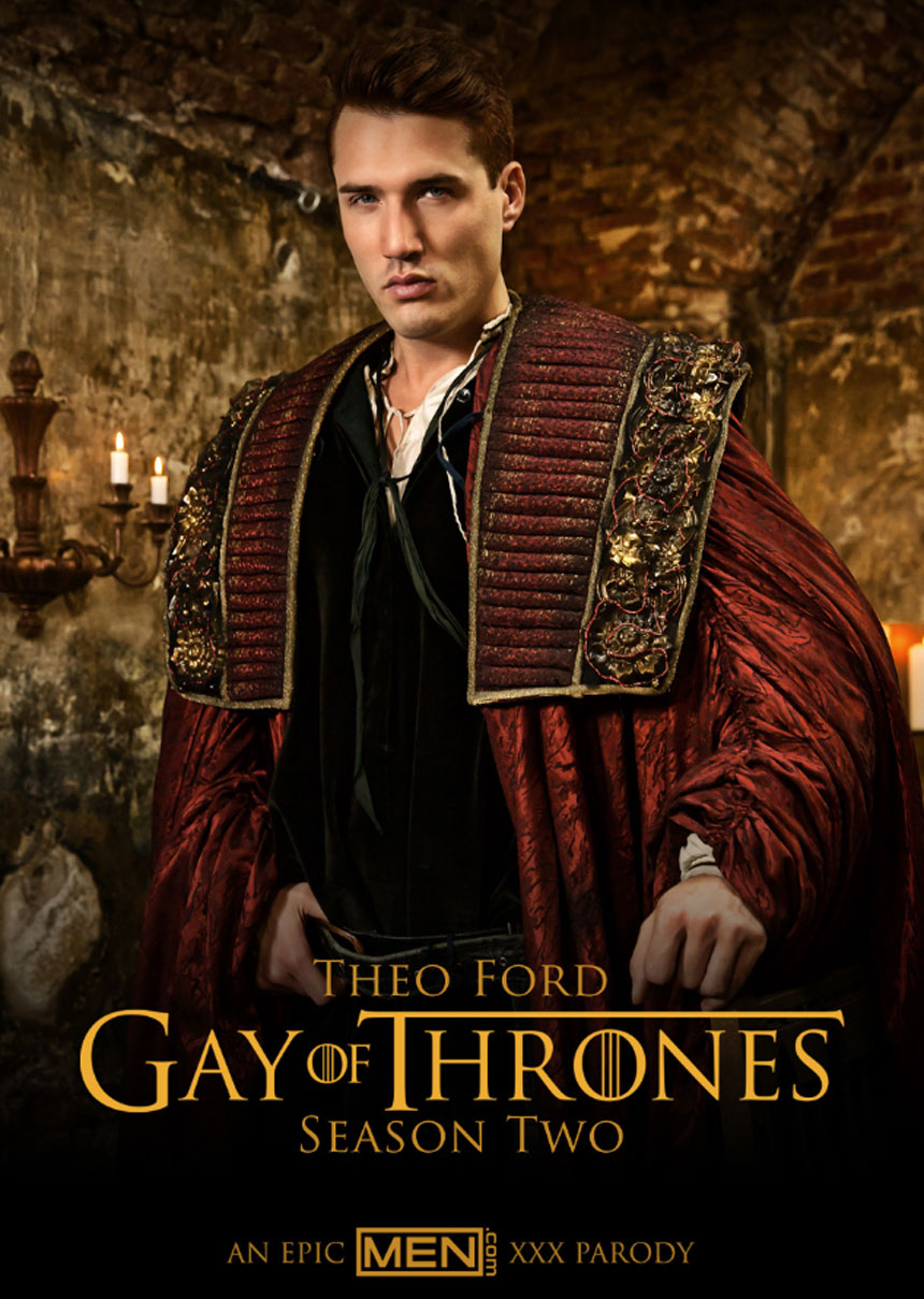 Theo Ford in Gay of Thrones