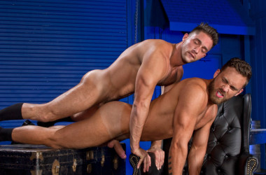 "Armando De Armas plows Logan Moore's ass in ""Foreskin Mafia"" scene three"