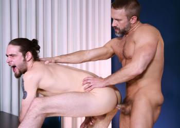 "Dirk Caber fucks Duncan Black in ""My Mom's New Husband"" part one"