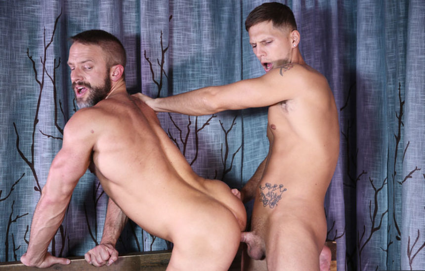 "Roman Todd fucks Dirk Caber in ""I Wanna Be Your Daddy"" from Men.com"