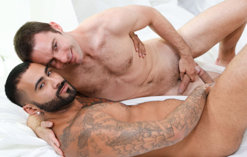 "Cameron Kincade licks and fucks Rikk York's ass in ""Half Hearted"" part three"