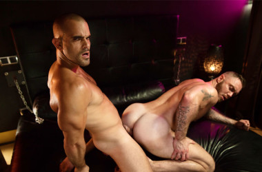 "Dominique Hansson bottoms for Damien Crosse in ""Bedside Stories"" part 3"