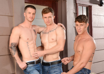 """Markie More, Paul Canon & Quentin in the first part of Next Door World's """"The Reunion"""""""
