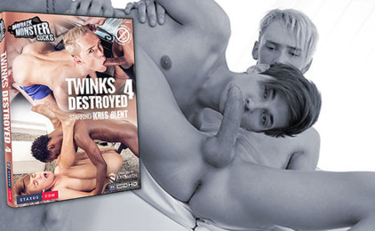 """Staxus releases """"Twinks Destroyed 4″ on DVD"""