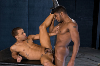 "XL pounds Trelino's bubble butt in ""XXXPosure"" part four from Raging Stallion"