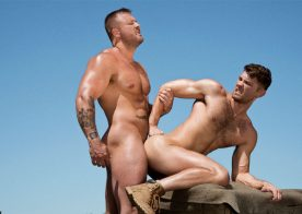 """Jacob Peterson bottoms for Austin Wolf in """"Total Exposure 2"""" scene two"""