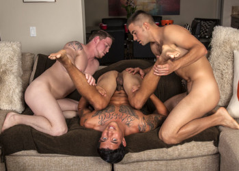 Joey Rico gets tag-teamed by Duke Campbell and Malachi Marx
