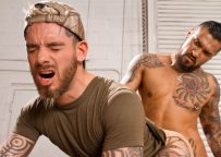 """Boomer Banks fucks Logan McCree in """"Dick Moves"""" part one from Raging Stallion"""