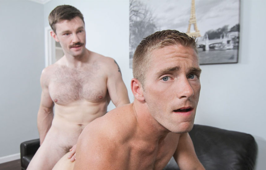 "Dennis West fucks Scott Riley in ""Dirty Uncle Dennis"" part one from Men.com"