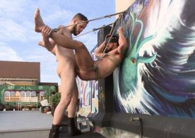 Special Agent Chris Harder takes on Wolf Hudson at Bound Gods