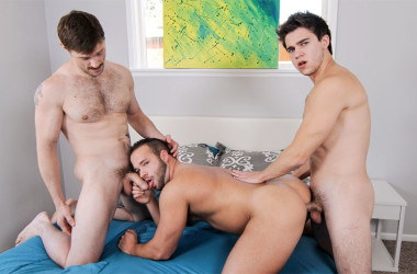 "Dennis West and Will Braun tag-team Luke Adams in ""Dirty Uncle Dennis"" part 4"