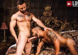 """Rafael Lords and Sergeant Miles suck and fuck in """"Down To Fuck"""" from Lucas Entertainment"""