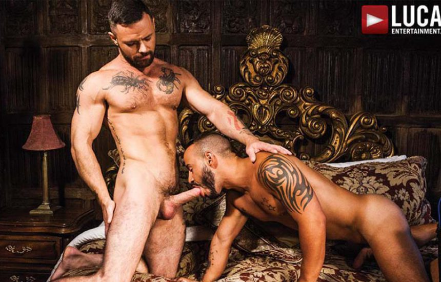 "Rafael Lords and Sergeant Miles suck and fuck in ""Down To Fuck"" from Lucas Entertainment"