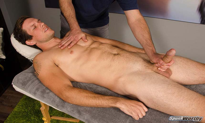 Man is given gay erotic massage