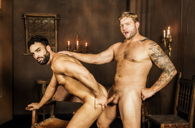 "Colby Jansen fucks Abraham Al Malek in ""My Brother The Hooker"" part 3 from Men.com"