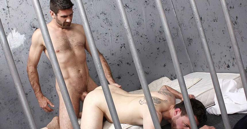 "Craig Daniels fucks hairy cub Riley Tess in ""Officer Submits"" from BullDog Pit"