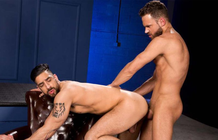 "Samir Hott gets fucked by Logan Moore in ""Temptation"" part two from Raging Stallion"