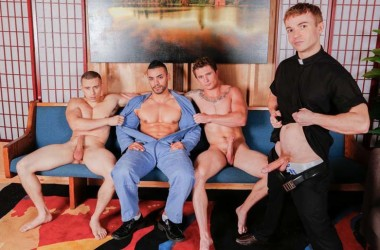 Dante Martin, Gabriel Cross, Markie More & Arad in a Next Door World fourgy