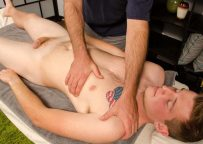 Sexy red-head Kenny gets a massage with a happy end at Spunk Worthy