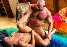 "Shay Michaels plows Brandon Wilde's ass in ""Guys Only Retreat"" from Pride Studios"