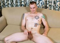 Hot inked recruit Colton Phobos solo at Active Duty