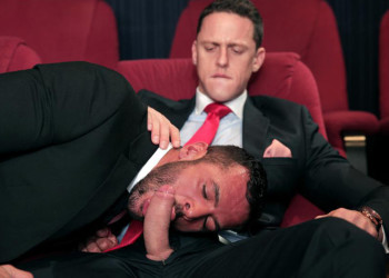 "Denis Vega and Ivan Gregory flip-fuck in ""Cine-X"" from Men At Play"
