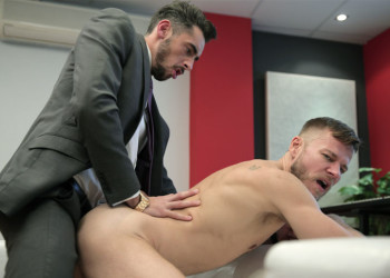 "Massimo Piano pounds Matthew Anders in ""The Chancer"" from Men At Play"