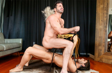 "Billy Santoro bottoms for Diego Sans in ""Senses"" from Men.com"