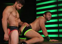 """Dorian Ferro takes Fabio Acconi's big cock in """"Pushing Limits"""" part three from Hot House"""