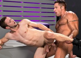 """Nick Capra plows Colt Rivers' ass in """"Backstage Pass"""" part 2 from Raging Stallion"""