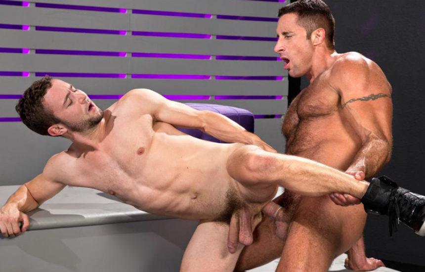 "Nick Capra plows Colt Rivers' ass in ""Backstage Pass"" part 2 from Raging Stallion"
