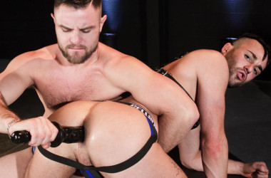 "Alex Mason and Nick Sterling flip-fuck in ""Pushing Limits"" part 4 from Hot House"