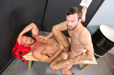 "Mike Gaitein fucks power bottom Matt Stevens in ""Striptease Audition"" from Pride Studios"
