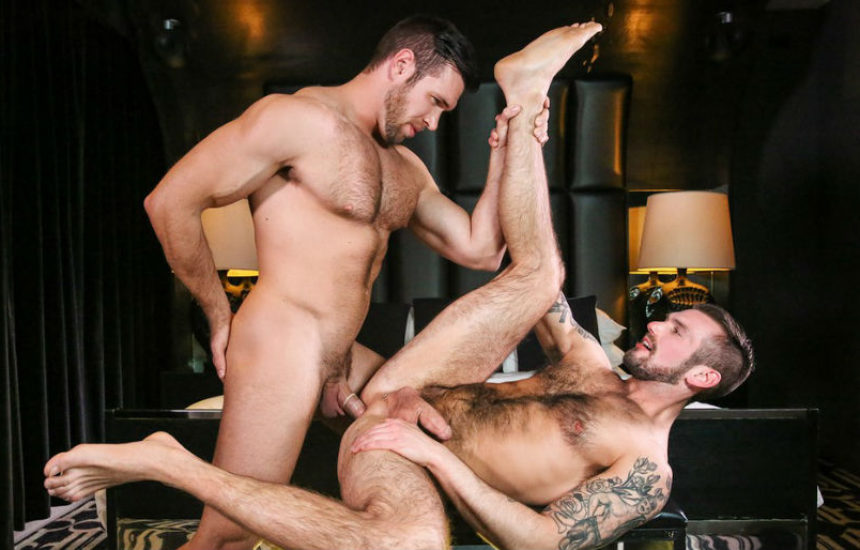 "Alex Mecum pounds Chris Harder's ass in ""Married Men"" part three from Men.com"