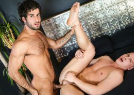 """Diego Sans pounds Tommy Regan in """"Married Men"""" part one from Men.com"""