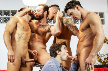 "Paddy Obrian, Will Braun, Hector De Silva, Jessy Ares & Klein Kerr in ""Lost Boy"" part three"
