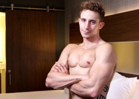 New recruit Trey shows his toned body and jerks off for Active Duty