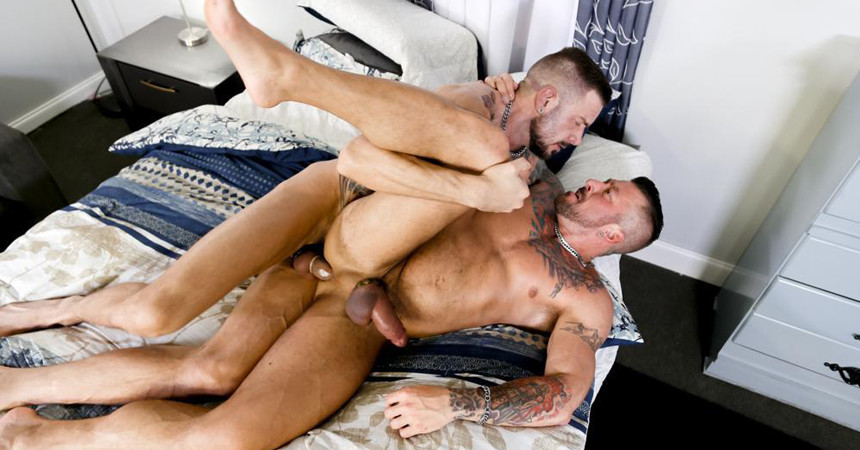 "Dolf Dietrich pounds Hugh Hunter in ""Couples Fantasy"" part 1 from Pride Studios"