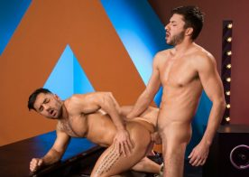 "Scott Demarco fucks Bruno Bernal in ""The Thirst is Real"" part one from Raging Stallion"