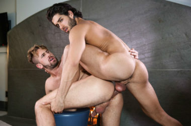 "Diego Sans fucks Wesley Woods in ""The Pilot"" part one from Men.com"