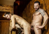 """Jessy Ares fucks Dario Beck in """"Language Barrier"""" part two from Men.com"""