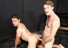 "Kaydin Bennett plows Lance Bar in ""The Big Dick Club"" part 3 from Pride Studios"